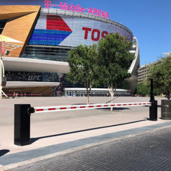 Anti-Ram-Bollards-and-Swing-Gate-T-Mobile-Arena