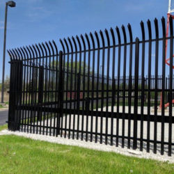 palisade fencing by gibraltar