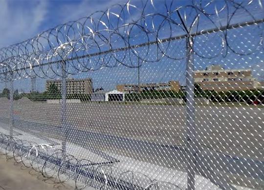 combination security fencing