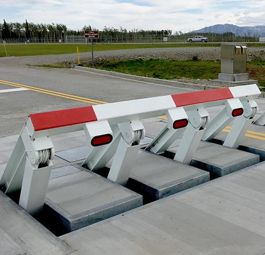 wedge barrier