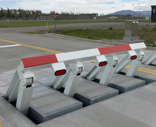 wedge barriers