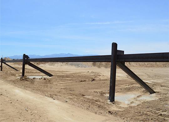 brace beam barrier