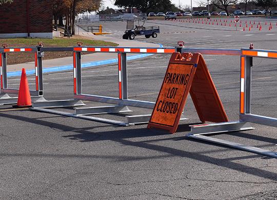 modular vehicle barrier